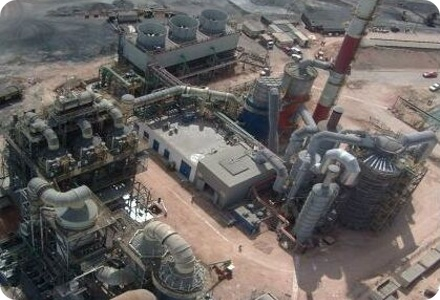 Altonorte is a custom copper smelting operation located near the port of Antofagasta in northern Chile. The smelter has the capacity to process 1,160,000 tonnes of copper concentrate per year. This operation is supplied with copper concentrates by third parties