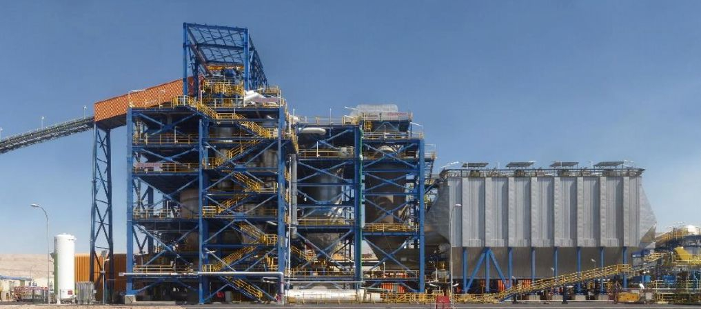 Codelco installed an Outotec Partial Roaster (a fluid bed roaster) at its Ministro Hales mine
